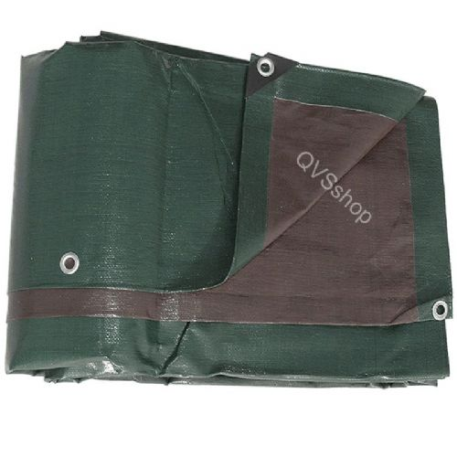 Heavy Duty Green Brown Tarpaulins